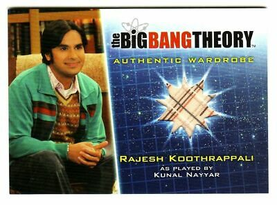 SEA 6/&7 BIG BANG THEORY M16 KUNAL NAYYAR AS RAJ KOOTHRAPPALI CARD