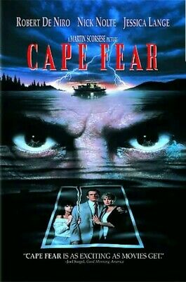 CAPE FEAR New Sealed DVD Robert De Niro Nick Nolte