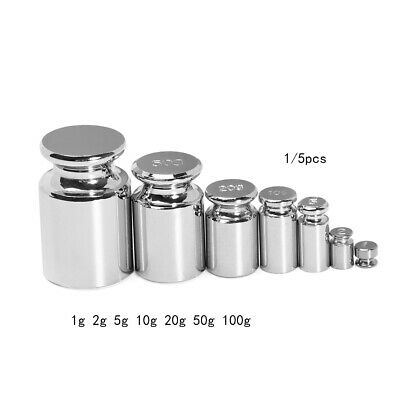 Accurate Calibration Set Chrome Plating Scale Weights Set Grams For Home Tool