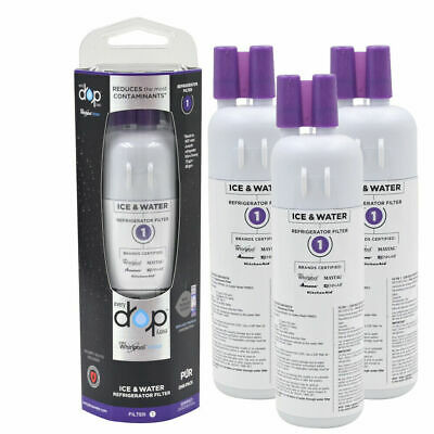 2 pack OEM.W10295370-EDR1RXD1-W10295370A -Everydrop1-Whirlpool-Water Filter 1