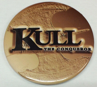 1997 Kull The Conqueror Collectible Pin Button / Universal Studios Movie Promo
