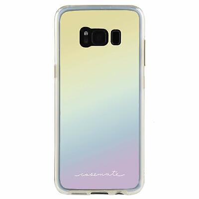 Genuine Samsung Galaxy S8 Case Case-Mate Naked Tough Iridescent mirror cover