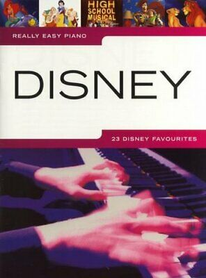 Really Easy Piano Disney by Collectif  New 9781849381772 Fast Free Shipping..