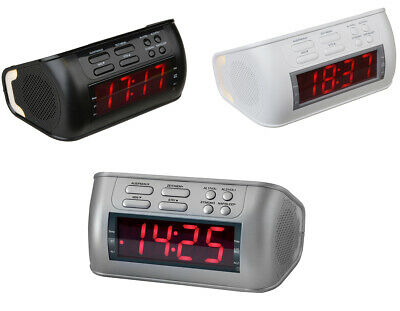 Terris Radiowecker RW 234 Radio Wecker Uhr Uhrenradio Sleep-/Nap PLL LCD Display