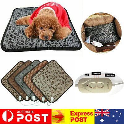 Waterproof Pet Electric Heat Heating Heated Pad Mat Dog Cat Thermal Protection