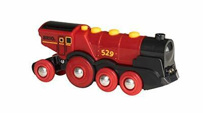 Brio Mighty Red Action Locomotive Juego Primera Edad Color Negro, Rojo 33592