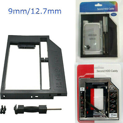 9mm / 12.7mm Disco Duro Universal SATAⅡSSD HDD Caddy para DVD - ROM Optical Bay