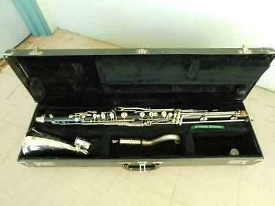 Vintage Buescher USA Bass Clarinet in Case