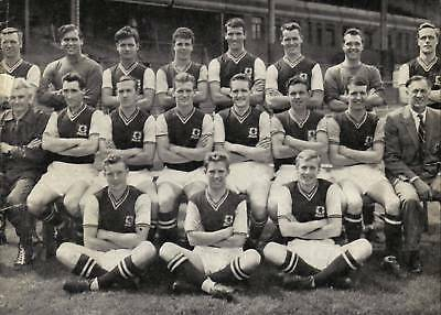 Aston Villa Football Team Photo>1961-62 Season