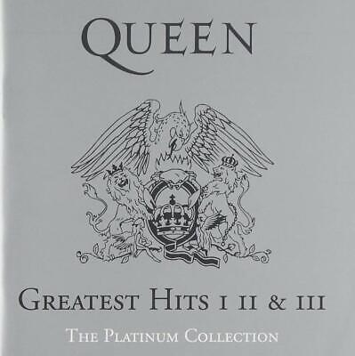 Queen Greatest Hits (CD) The Platinum Collection 1,2&3 New Sealed Free P&P