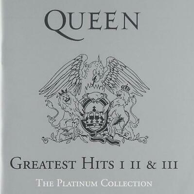 Queen Greatest Hits I II & III: The Platinum Collection [CD] New Sealed Free P&P