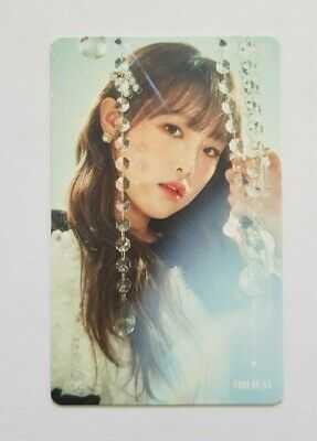 "K-POP IZ*ONE Choi Yena Photocard - Official New 2nd Mini Album ""HEART IZ"""
