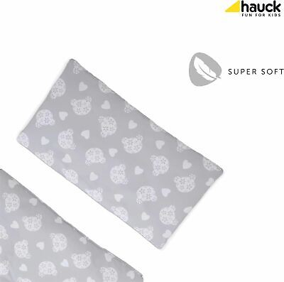 Hauck ALPHA HIGHCHAIR PAD DELUXE - TEDDY GREY Baby Booster Seat Cushion