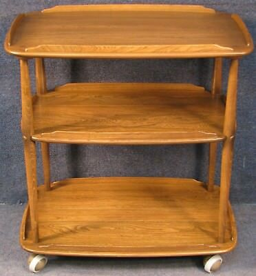 Ercol Elm And Beech Windsor Trolley In Golden Dawn