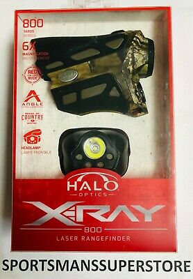 2317 Brand New Halo X-Ray 800 Yard Laser RangeFinder Camo Free Shipping
