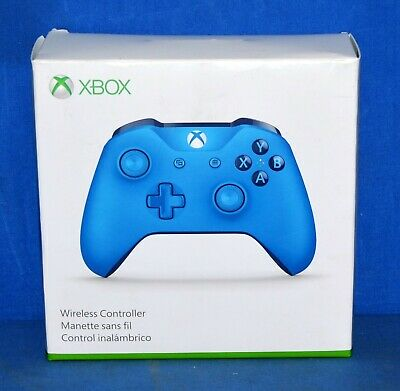 Microsoft (WL3-00018) Xbox One Wireless Controller - Solid Blue