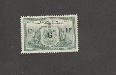 CANADA 1950 SPECIAL DELIVERY OFFICIAL 10c G O/P MINT STAMP SC # EO1