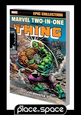 Marvel Two In One Epic Collection Cry Monster - Softcover