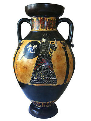 Panathenaic Amphorae Amphora Vase Ancient Greek Museum Replica Reproduction