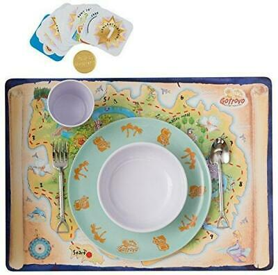 Gotrovo Dinner Set/Game for Picky Eaters: Motivates Kids Through Fun