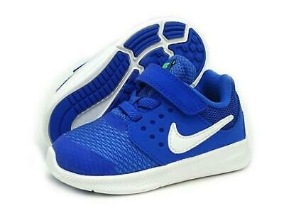 d4f5b67a60f9 Nike Downshifter 7 AC Blue Kids Sneakers Casual Athletic Shoes Toddler