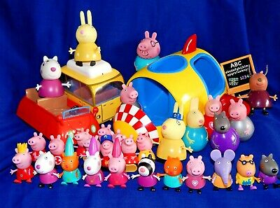 PEPPA PIG ASSORTED FIGURES VEHICLES and including WEEBLES - Please choose:-