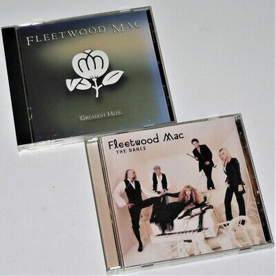FLEETWOOD MAC - CD Lot - THE DANCE & GREATEST HITS - 2 CD - VGC - Nicks / McVie