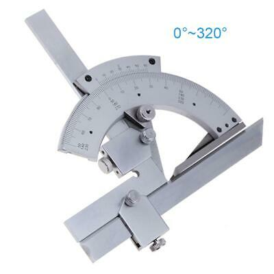 Universal 0-320° Protractor Goniometer Angle Ruler Finder Measuring Tools