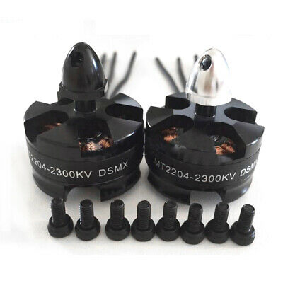 1/2/4Pcs MT2204 2300KV Brushless Motor for Mini Quadcopter QAV250 2X CW&2X CCW