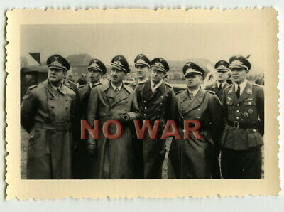 Wwii German Photo Luftwaffe Pilots General Adolf Galland Knight Cross Holders