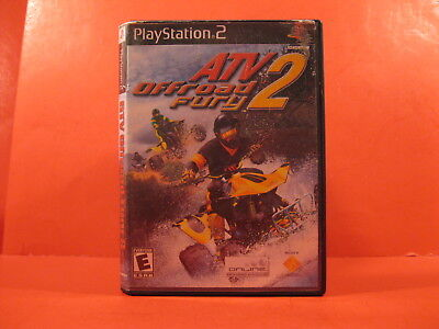 Dvd - Playstation 2 - Atv 2 - Off Road Fury