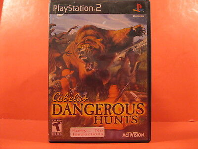 Dvd - Playstation 2 - Cabelas - Dangerous Hunts