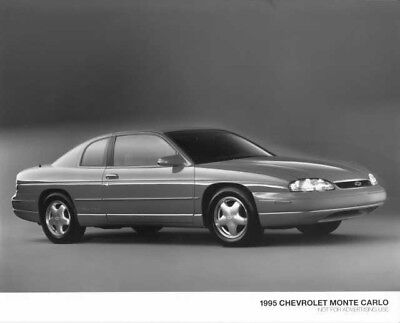 1986 Chevrolet Monte Carlo SS Press Photo 0101