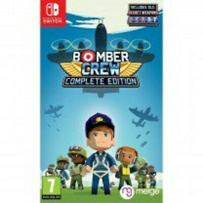 Bomber Crew Complete Edition (NINTENDO SWITCH) BRAND NEW SEALED