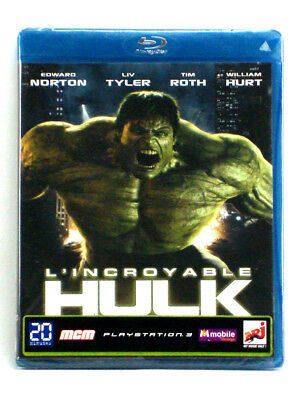 Incredible Hulk French Edition Blu-Ray Region B/2 Marvel Comics New Sealed