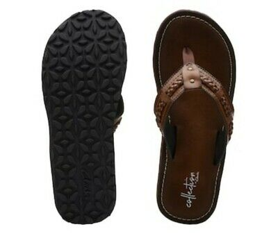 e1103cdc55e4 Clarks Fenner Nerice flip flop sandals. Braided strap. Cushion soft for  comfort