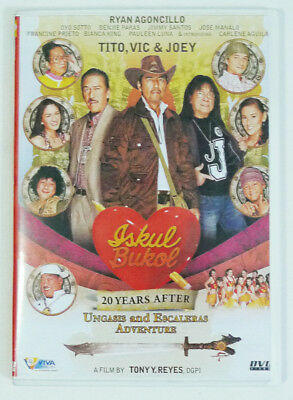 Iskul Bukol: 20 Years After The Ungasis & Escaleras Adventure (DVD, 2008, Viva)