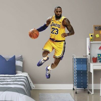 57c56537b25 LeBron James - Life-Size Officially Licensed NBA Removable Wall Decal   Fathead