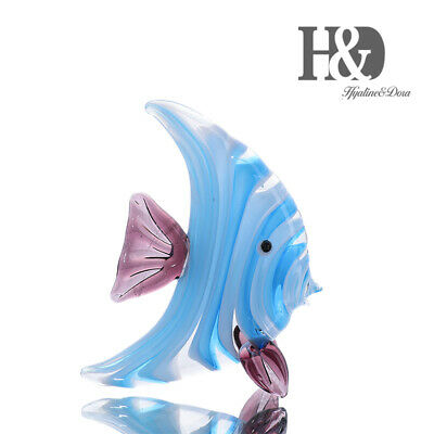 Hand Blown Art Glass Miniature Figurines Cute Animal Home Collectible Gift Decor