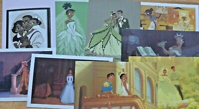 Disney The Princess and the Frog Postcards new