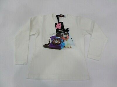 "stock bimba ""NOEMI"" made in italy 3 t-shirt + 1 pantaloncino tg anni 4"