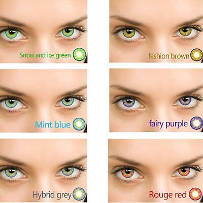Lentille de Contact Souple de Couleur / Color Contact Lenses / Validité 1 year