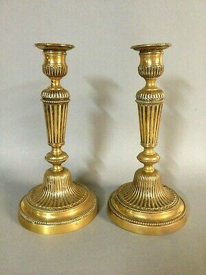 Paire d anciens Bougeoirs / chandeliers . old candlesticks
