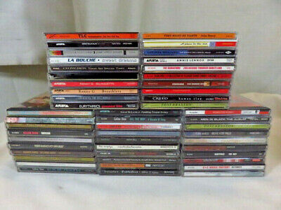 Lot of 50 Rock, R&B, Easy Listening, Pop CDs from the 90s 1990's - good stuff!