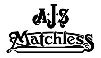 high detail airbrush stencil AJS  MATCHLESS motorcycles  FREE UK POSTAGE