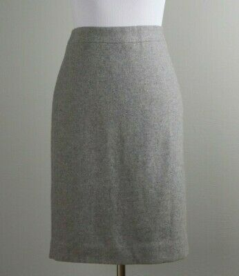 d2276b9663 J. CREW FACTORY Women's The Pencil Skirt Double Serge Wool in Violet ...