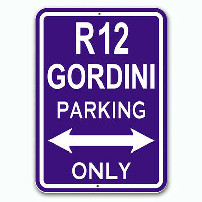 R12 Gordini - Parking Only