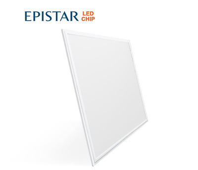 Panel LED techo oficina 48W empotrable-encastrable falso techo 60x60 LED26