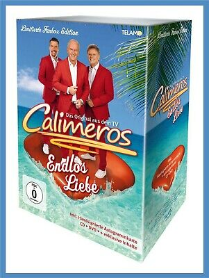 "Calimeros ""endlos liebe"" limitierte Fan-Box CD NEU Album 2019"