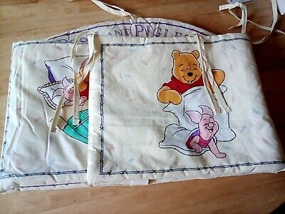 Winnie the pooh Curtains And Cot Bumper